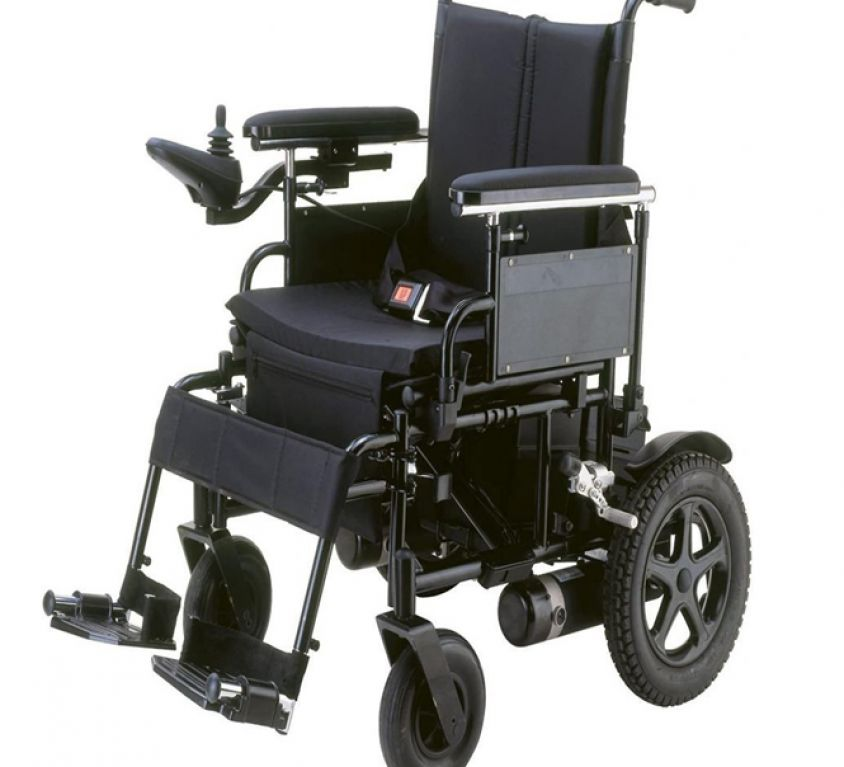 THE PART OF ELECTRIC WHEELCHAIR DRIVE